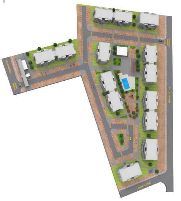 Condominio de departamentos con subsidio automático DS19 en Arica