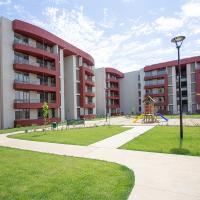 Condominio Cumbres de San Miguel en Talca, Departamentos de 3 dormitorios, con subsidio ds19, Pacal, Grupo Inmobiliario, últimas unidades con Entrega inmediata.