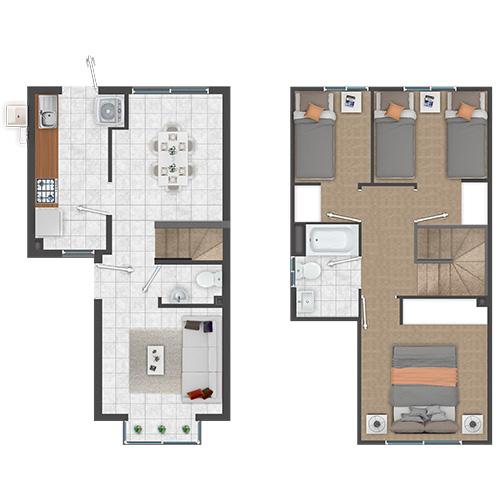 Casas con Subsidio Automático DS19 en Rengo